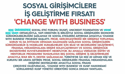 """Change With Business"" Platin Dergisi'nde!"