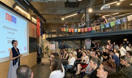 Sosyal Girişim Projeleri #TSGA Açık Sahne'de Ses Buldu
